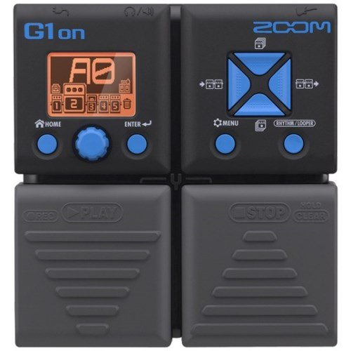Zoom G1on - Multi-effect for guitar, black
