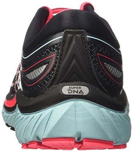 Brooks Glycerin 15, Chaussures de Gymnastique Femme Noir (Black/island Blue/diva Pink)