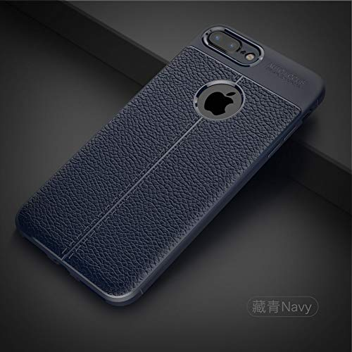 HANSHUO Telefon-Kasten Litchi Luxury Shockproof Matte Hülle Für iPhone 6 7 8 6S Plus 5 5S Leder Kohlefaser Für iPhone X XR XS Max Phone Case