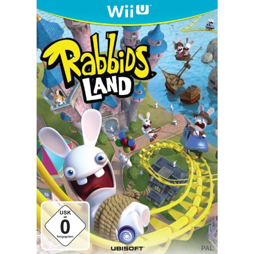 Wii Video-spiele (Rabbids Land)