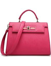 Good Quality Woman'S Brown Black Blue Red Shoulder Bag Tote Bag Messenger Bag Bags A109 (A) By Oyangs Bag