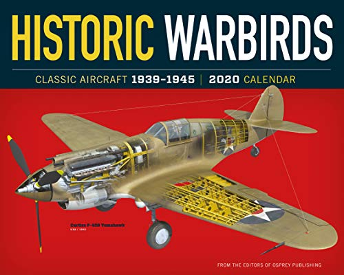 Historic Warbirds Wall Calendar 2020