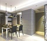 Schwarz und Grau Vertikale Gestreifte Tapete Schwarz Weiß Konzept Horizontale Streifen Tapetenbahn für Wohnzimmer Schlafzimmer Büro 10 * 0,53 mt