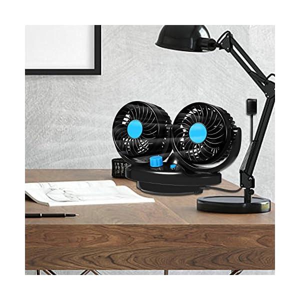 12-V-Auto-Ventilador-360-grados-giratorio-de-doble-cabezal-Auto-de-aire-de-refrigeracin-de-Incluso-de-ventilador-enorme-ruhiges-salpicadero-de-ventilacin-la-velocidad-2-auto-oscilante-Fans-Verano-de-e