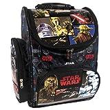 Star Wars Motiv Schulranzen Rucksack Kinderrucksack Ranzen Schulrucksack Junge schwarz sehr leicht gepolstert