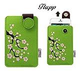 Handyhülle Flupp Kirschblüten, passend für Fairphone 1,