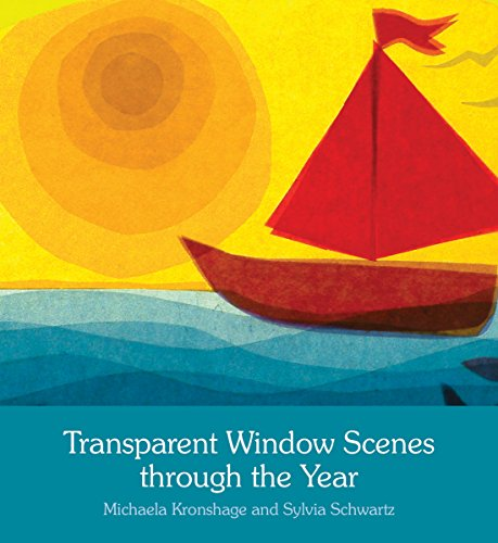 Transparent Window Scenes Through the Year por Michaela Kronshage