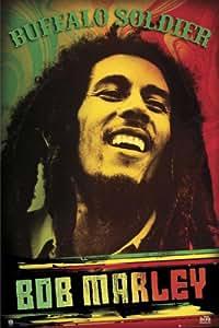 Empire 420596 Marley, Bob - Buffalo Soldier Poster - 61 x 91.5 cm