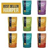 Lo! Foods - Sampler Hamper, Low Carb Keto Friendly, (Pack of 8)