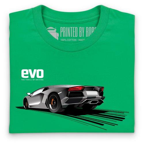 evo Bull Super Car T-shirt, Uomo Verde smeraldo