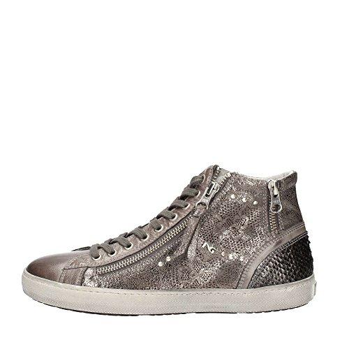 Nero Giardini A616210d Sneakers Donna Pelle Grafite Grafite 37