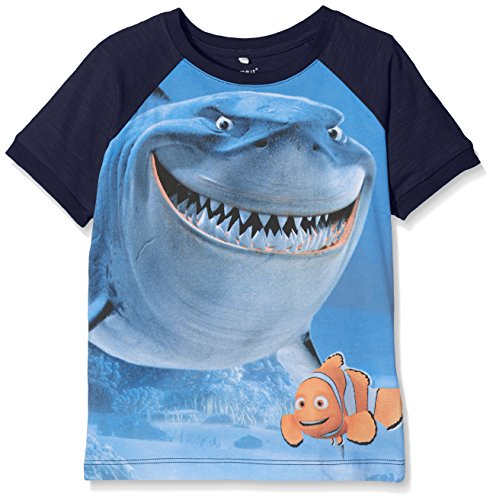 Name It Boy's Nitnemo Eli SS Top MZ WDI T-Shirt