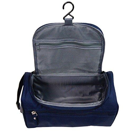 Beauty Case da Viaggio ONEGenug Borsa da Toilette Cosmetico Bag Impemeabile Ripiegabile Cosmetico Bag per Donna & Uomo e Bambino