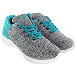 Briix Women Mesh Sports Shoes for Running Walking Training and Gym Shoes Grey and Blue [BR018]