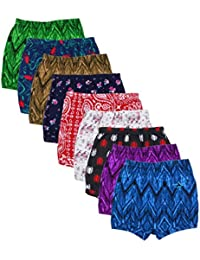 Kids Basket Baby Boys and Girls Printed 100% Cotton Briefs Inner Underwear Panty Combo Pack of 10 Pc - Offer Sale