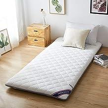 Respirable Cama colchón Sleeping pad, Acolchado Equipadas Colchón tatami Antideslizante Colchón de futón piso Plegable