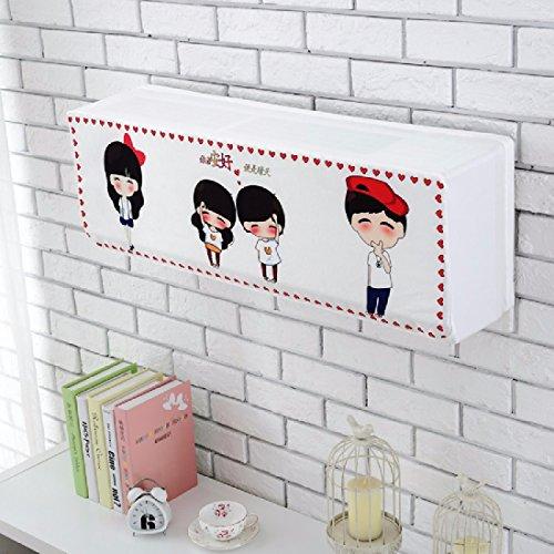 khskx Korean Version der Käfig All Inclusive Klimaanlage Haken Cover, 86*28*30, J