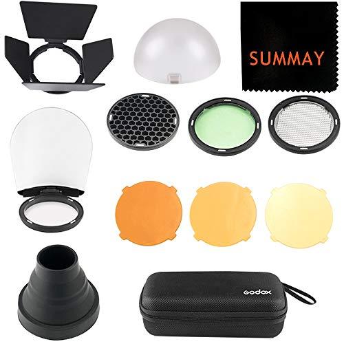 Godox AK-R1 Zubehör Kit für Kamera Speedlite Blitz Zubehör Godox V1S V1C V1N V1F V1O V1P AD200 Pocket Blitz Kopf Diffusoren -