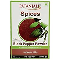 100gm Patanjali Especias Negro pimienta en polvo