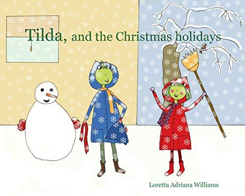 Green Frog Pot (Tilda, and the Christmas holidays (Tilda, a small green frog Book 2) (English Edition))