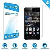 Arctic Fox 3X Gehärtetem glas displayschutzfolie glas transparent schützen hd display härte 9H anti scratch Für Huawei P8