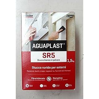 beissier aguaplast SR5Stucco Textured White Powder 1.5kg x Shaves Holes Cracks
