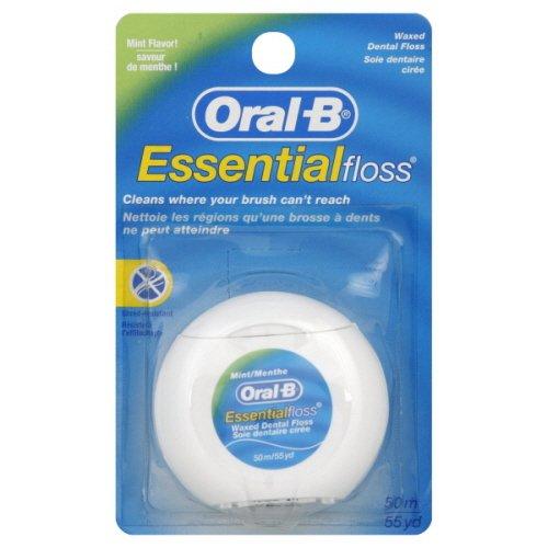 Oral-B Essential - Filo interdentale alla menta, 12 x 50 m