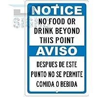 bienternary Placa Decorativa de Aluminio con Texto en Inglés Noticias no Fad or Drink (Idioma español no garantizado)