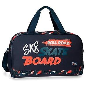 51y02VPxwAL. SS300  - Roll Road, Bolsa de Viaje, 45 cm, 23.4 Litros, Multicolor