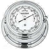 Barometer Bremen II Messing verchromt