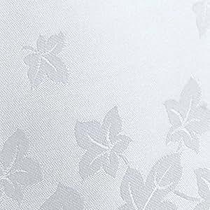 Feuilles de lierre Blanc grandes serviettes de Damas en coton égyptien-Lot de 4