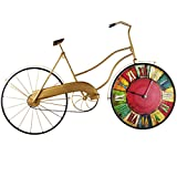 Fahrrad-Modellierung Retro-Uhr Home Wohnzimmer Dekoration Kreative Mode Kunst Wanduhr