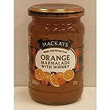 Mackays Orange Marmalade with Whisky 340g Glas (Orangen-Marmelade mit Whiskey)