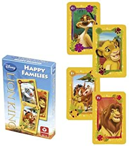 Disney Lion King Happy Families Card Game