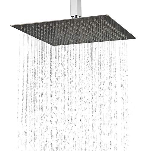 Duschkopf Regendusche, Edelstahl Regenbrause für ihre Badezimmer 30cm Ultra Slim Design Kelelife