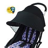 iStary Multifunktionale Kinder Baby Anti UV Tuch Kinderwagen Abdeckung Winddicht Regensicher Sonnenschutz Regenschirm Markise Shelter Universal Zubehör Einfache Installation Für 0-3 Jahre Alt Baby