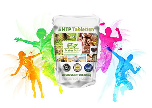 5-HTP 200mg 120 Kapseln natürliche Inhaltsstoffe Griffonia Samen - Schon 1 Kapsel am Tag genügt, ein weiterer Pluspunkt dieses Qualitätsproduktes