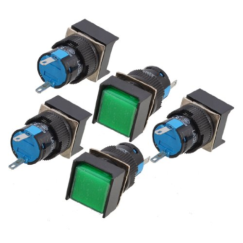 Sourcingmap® 5mm x 2mm PCB Board LED Spacer Unterstützung des Kofferraum, 400Stück