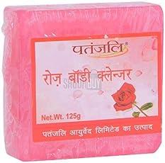 Patanjali Rose Body Cleanser, 125g
