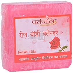 Patanjali Rose Body Cleanser, 125g