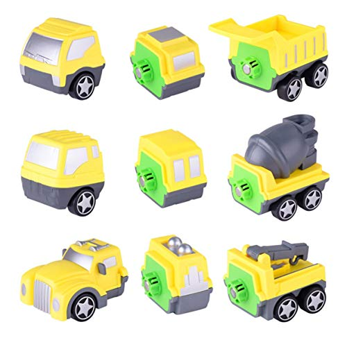 Detectoy Kinder Kinder Magnetische Gebäude Spielzeug Engineering Truck Modelle Intelligenz Entwicklung Spielzeug Fantastische Spielzeug Für Greifen Fähigkeit