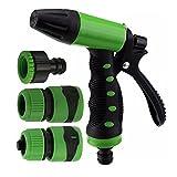 #6: Orpio 7 Function High Pressure Car/Bike/Gardening Wash Nozzle Water Gun Spray (Green)