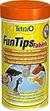 Tetra FunTips Tablets Haft-Futtertabletten, Hauptfutter, haftet an der Scheibe, zum Fische beobachten, 300 Tabletten