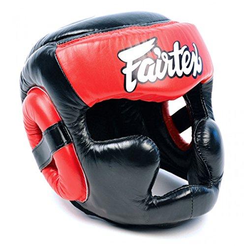 Fairtex HG13Cobertura Total Headguard-Protector de Cabeza Casco Boxeo K-1de Muay Thai MMA Cabeza...