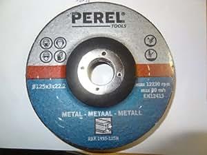 DISQUE A TRONCONNER 125mm (5pcs) - METAL - PEREL - 1933-125N