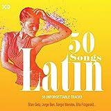 3CD 50 Songs Latin, Latin Jazz, Bossa Nova, Latin party, Musica Latina, Sten Getz, Salsaloco De Cuba, Ella Fitzgerald, Samba, Lambada