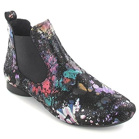Think Damen Stiefeletten - elegante Stiefelette GUAD 6-86292-09 Mehrfarbig, EU 39.5