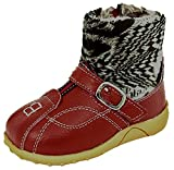 Baby/Kinder Winter Stiefel Boots Gr. 18-25 rot (22)