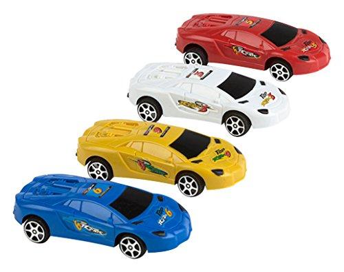 Color Baby - Blíster 4 coches retro fricción (37173)