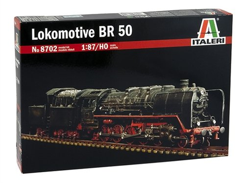 Italeri 8702 - lokomotive br50 ho/1:87 modellismo treni model kit scala 1:87